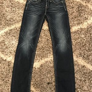 Miss Me Bottoms - Miss Me girls size 12 skinny jeans